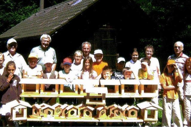 Wandern und basteln mit dem Schwarzwaldverein