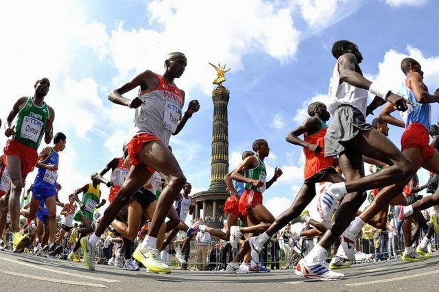 Kenianer Abel Kirui siegt bei Marathon