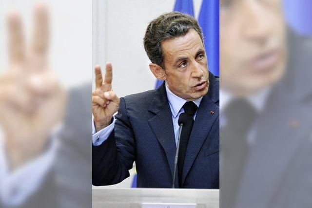 Frankreichs Staatschef will Banker zügeln