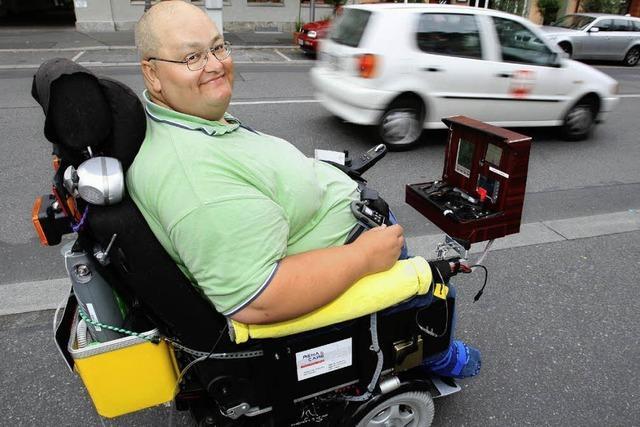 Im Rollstuhl von Fürth nach Brüssel