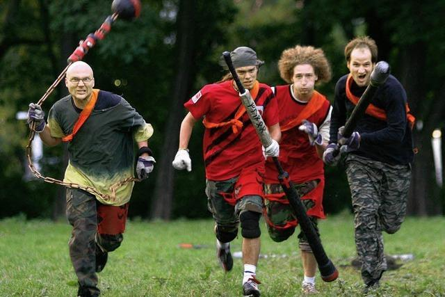 Jugger: Rugby trifft Mittelalter
