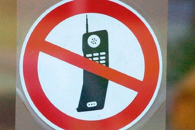Handyblocker sind aktiviert