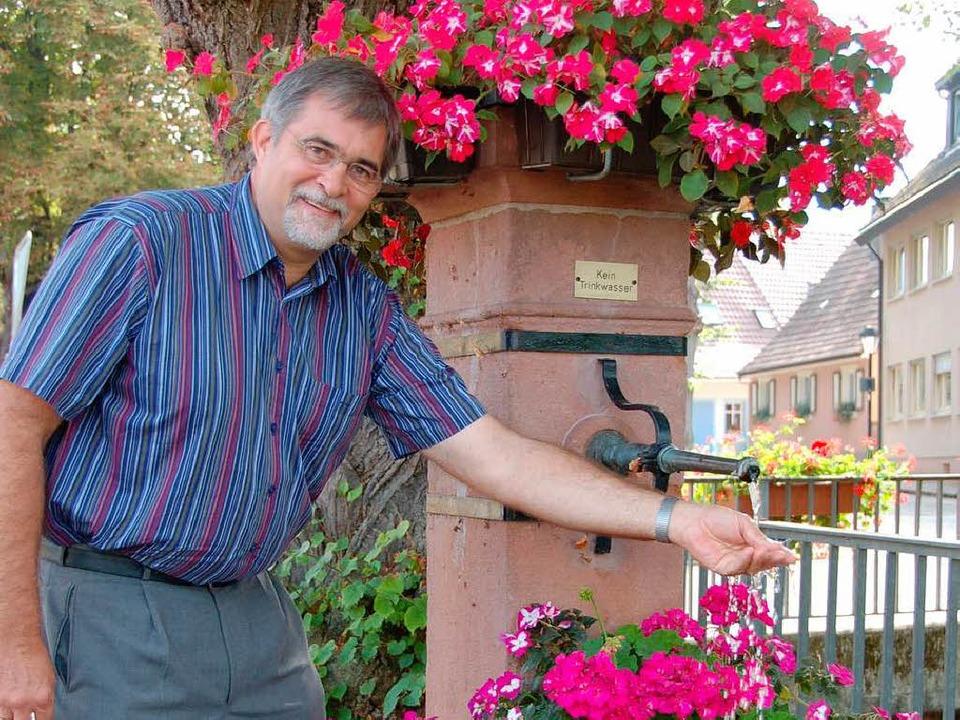 Ortsvorsteher Michael Fischer  | Foto: sigrid umiger