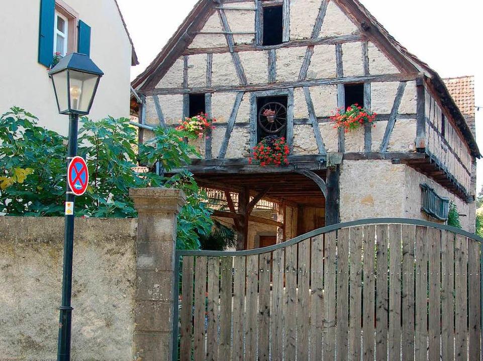Im Haus der Familie Duille lebte um  1770 der Chirurg Melchior Rieger.  | Foto: sigrid umiger
