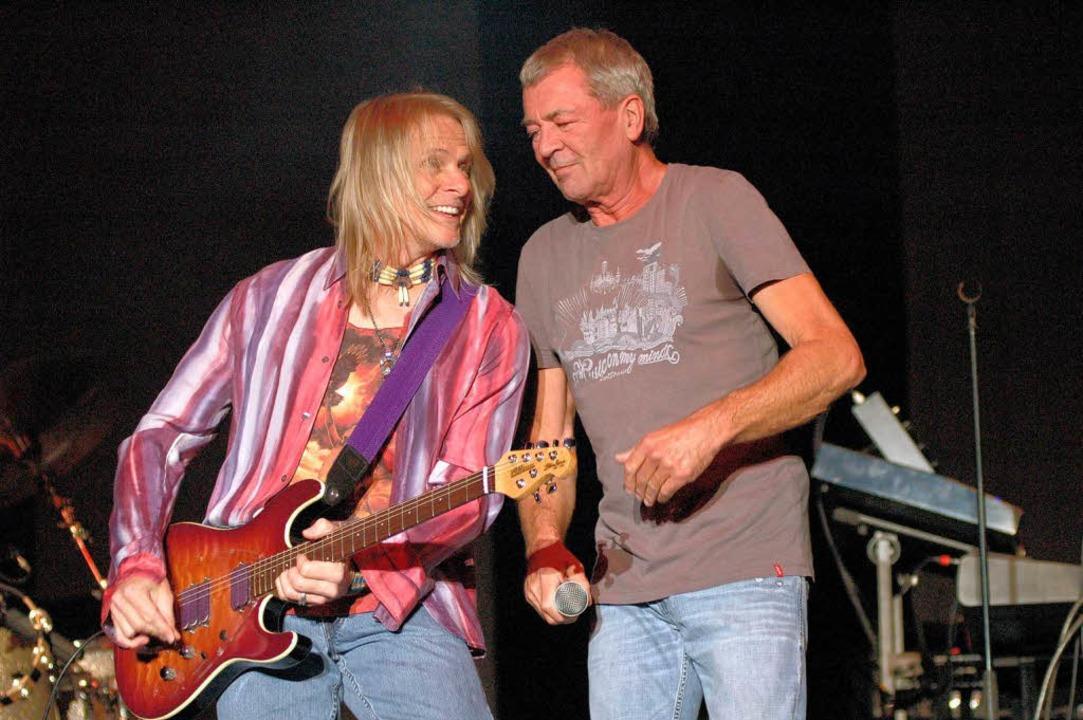 Routinierter Ersatz: Deep Purple in Konstanz.  | Foto: rother