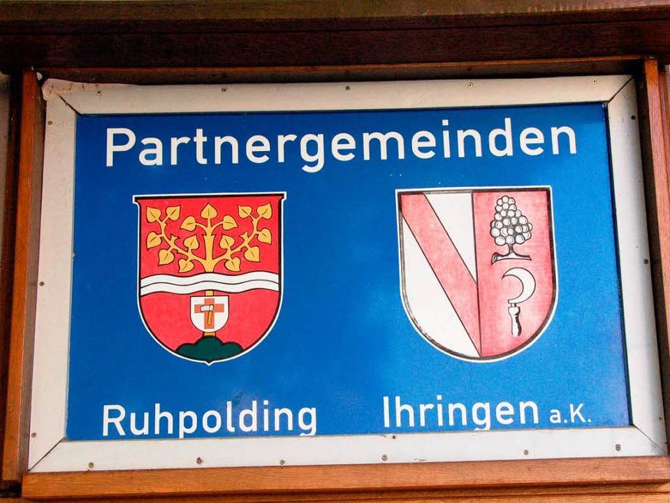 Seit 30 Jahren sind Ihringen und Ruhpolding  schon verschwistert.  | Foto: Gerold Zink