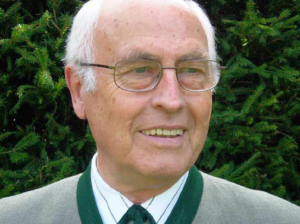 Herbert Ohl war von 1978 bis 1996 Bürgermeister von Ruhpolding.  | Foto: Privat