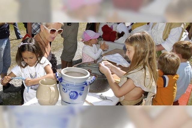 Mittelalterliche Attraktionen für Kinder