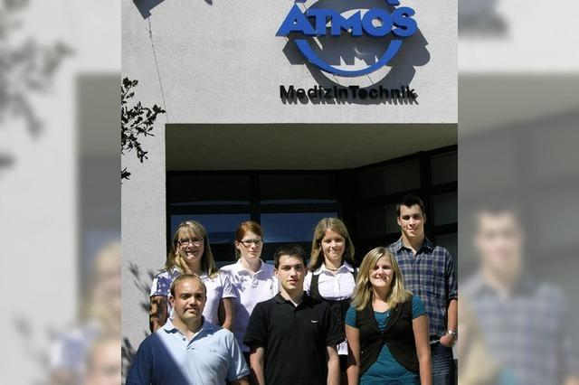 Erster Tag bei Atmos