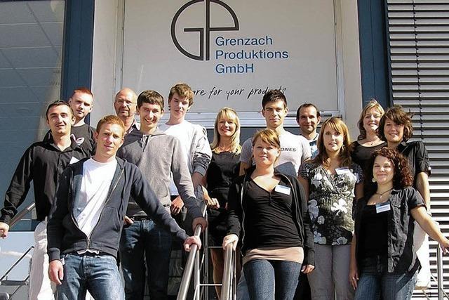 Zehn starten ihre Ausbildung in der Pharmabranche