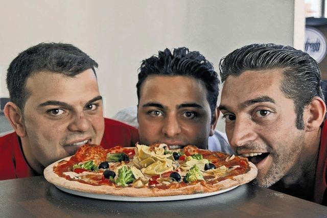 Kein Mangel an Pizzerien