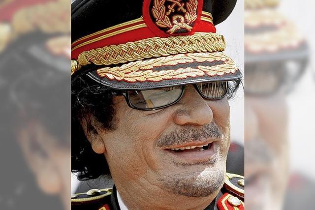 Muammar al-Gaddafi: Terror und Öl bestimmen sein Leben