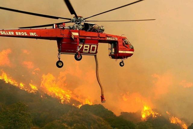 Fortschritte bei Brandbekämpfung in Kalifornien