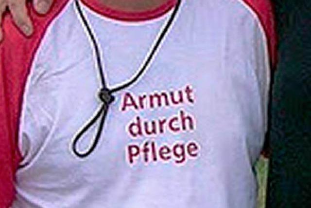 Armut durch Pflege? Protestmarsch nach Berlin