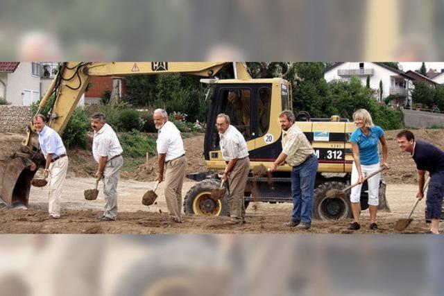 Startschuss für Baugebiet