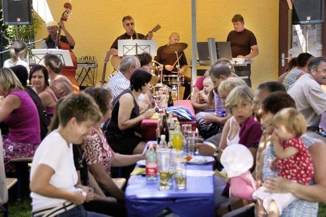 Musik im Freibad – das zieht viel Publikum an