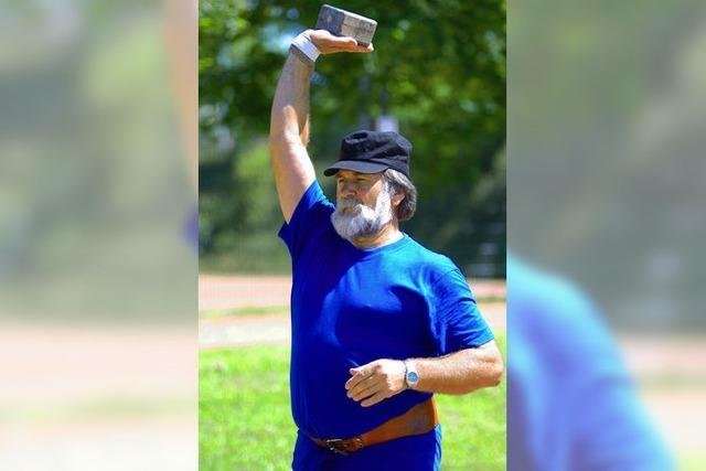 Gehrmann wirft Weltrekord