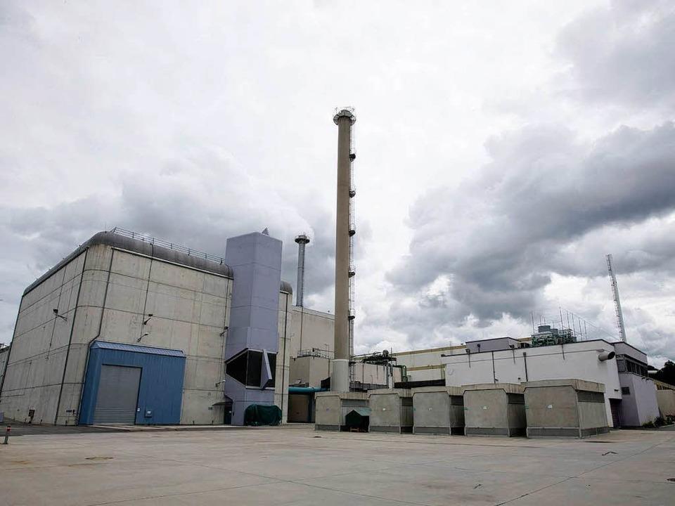 Der Gebäudekomplex der stillgelegten W...asung hochradioaktiver Fluessigkeiten.  | Foto: ddp