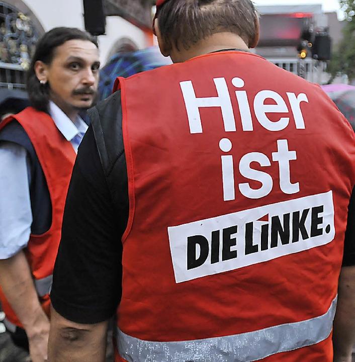 Die Ordner hatten keine Mühe in Freiburg.  | Foto: Ingo Schneider