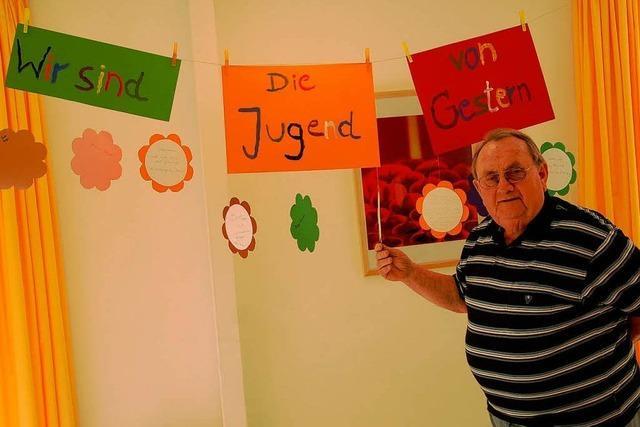 Im Seniorenpflegeheim gibt es auch Tagespflege