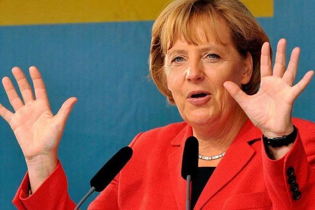 Wie war's bei...Angela Merkel in Freiburg?