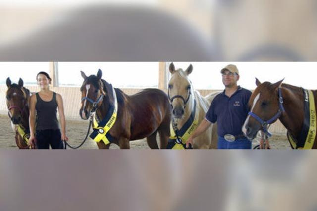Auf dem Quarter Horse zum Sieg