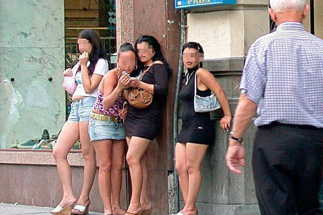 Sex auf der Straße empört die Spanier