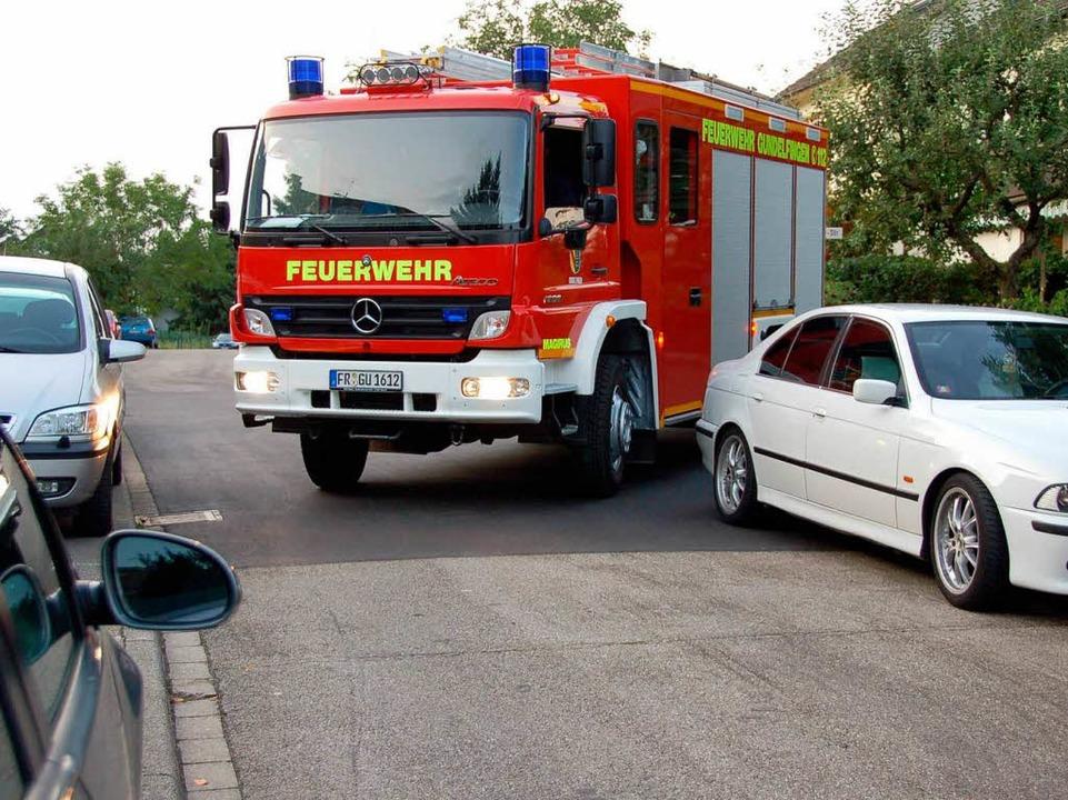 Hier kommt das Feuerwehrauto nicht um die Kurve.  | Foto: Andrea Steinhart
