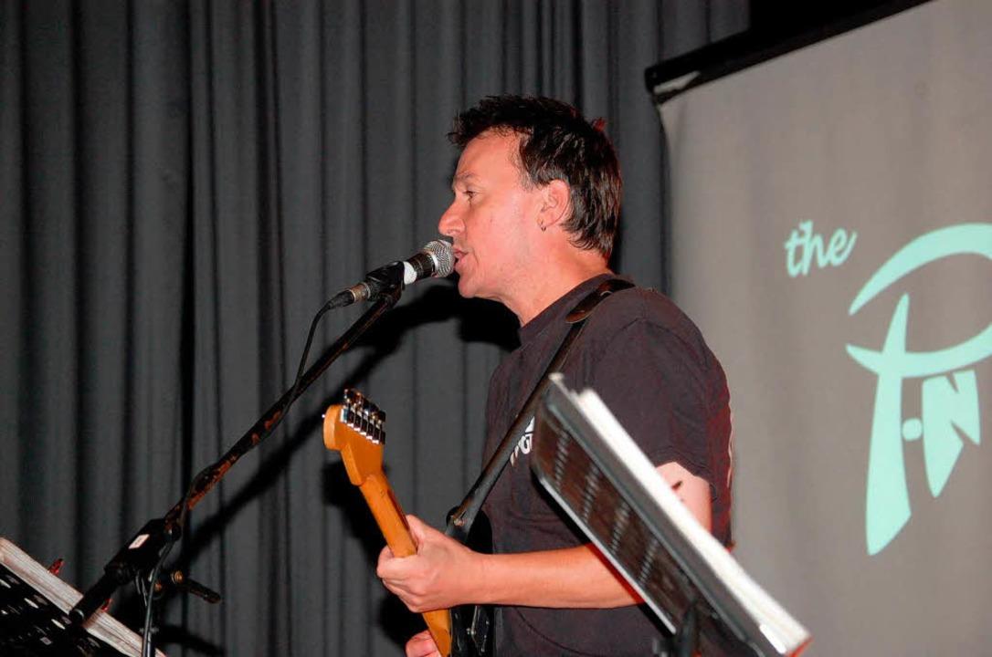 Jack Lais von der Band P-Nuts.    Foto: Edgar Steinfelder