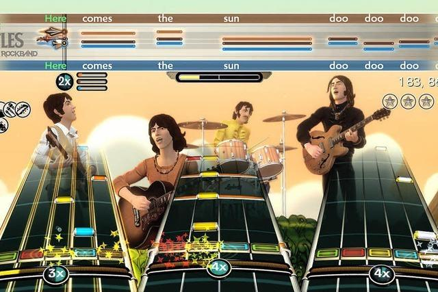 Hausmusik mit John, Paul, George und Ringo