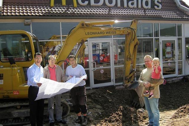 Ein McCafé und zehn neue Arbeitsplätze