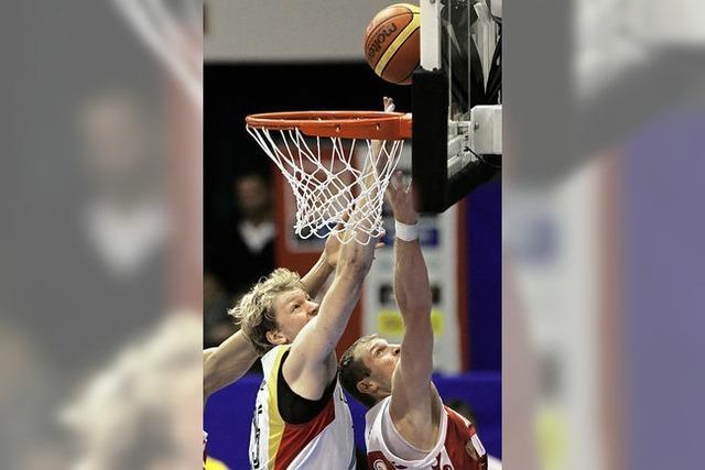 Basketballer schlagen Russland