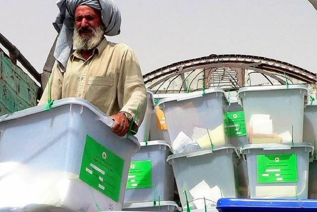 Betrug bei Präsidentschaftswahl in Afghanistan?