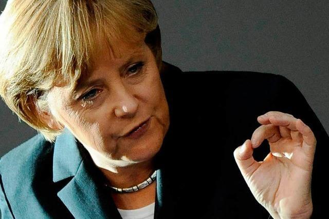 Merkel verteidigt Truppe in Afghanistan