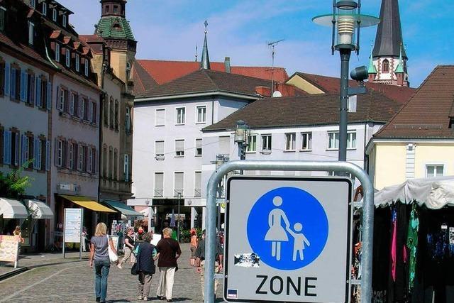 Verwaltungsgericht stützt Fußgängerzone