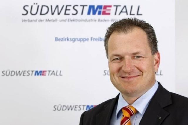 Südwestmetall-Geschäftsführer Stefan Krauss geht