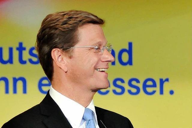 Wie war's bei...Guido Westerwelle in Freiburg