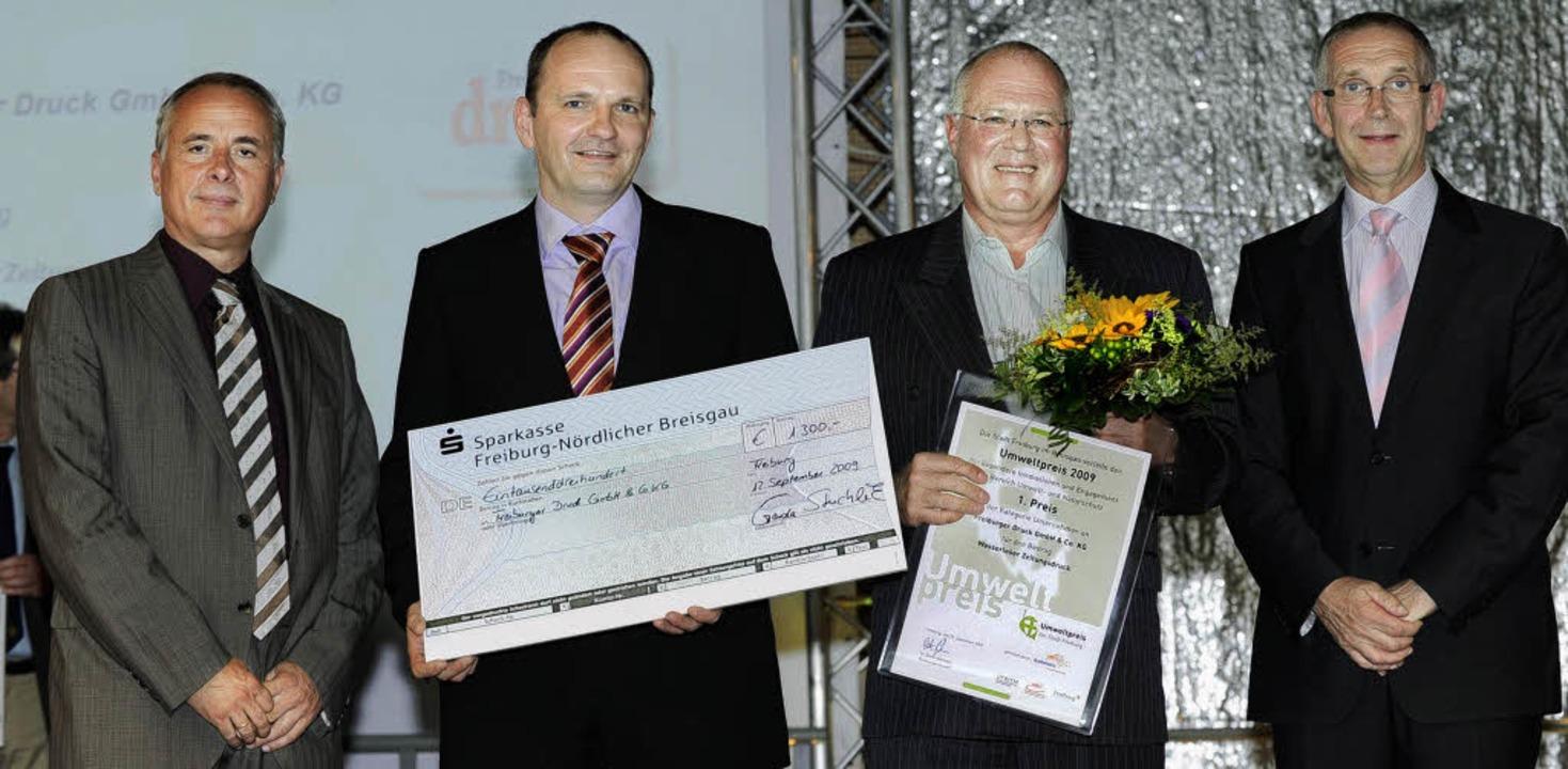 Als einer von zwei ersten  Preisträger...Bernd Dallmann (Geschäftsführer FWTM).  | Foto: Rita Eggstein
