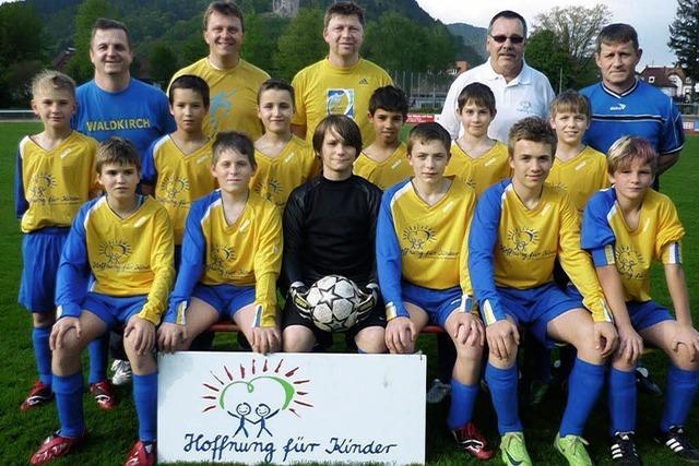 Trainingsstart für junge Kicker