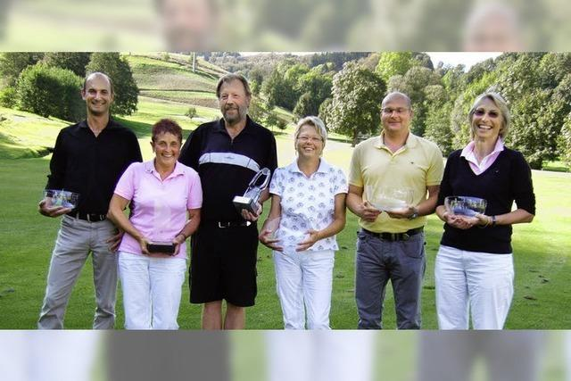 Titelkämpfe auf der Schönauer Panoramagolfanlage