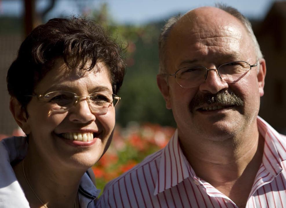 Das Ehepaar Rüger   | Foto: Etter