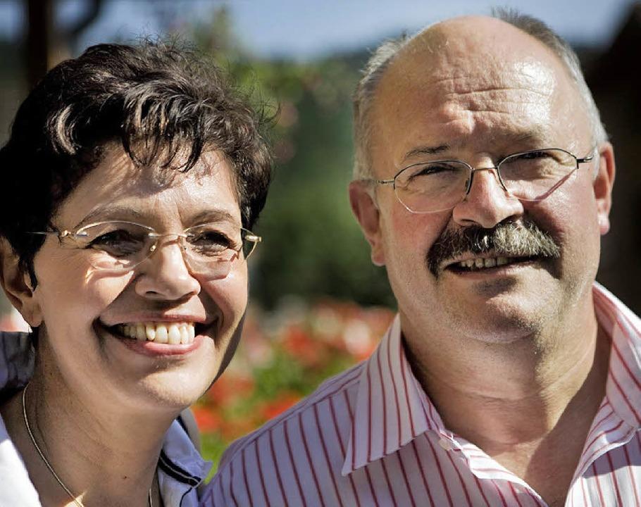 Mathias und Katharina Rüger leben heute in St. Blasien.   | Foto: ETTER