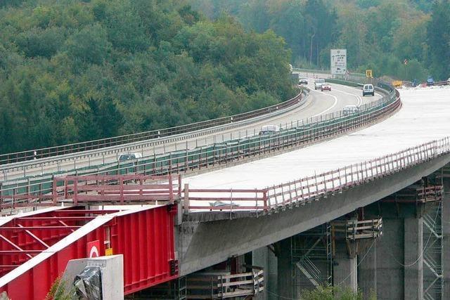 So entsteht die neue Autobahnbrücke bei Rheinfelden