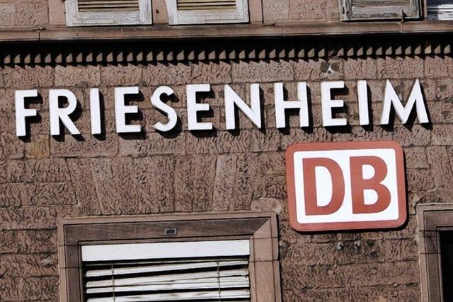 Ein weiterer Zug hält in Friesenheim – vorläufig