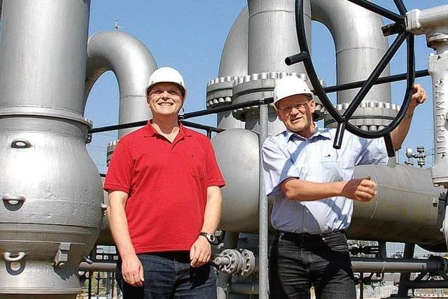 Hügelheim sorgt für Gas in Italien