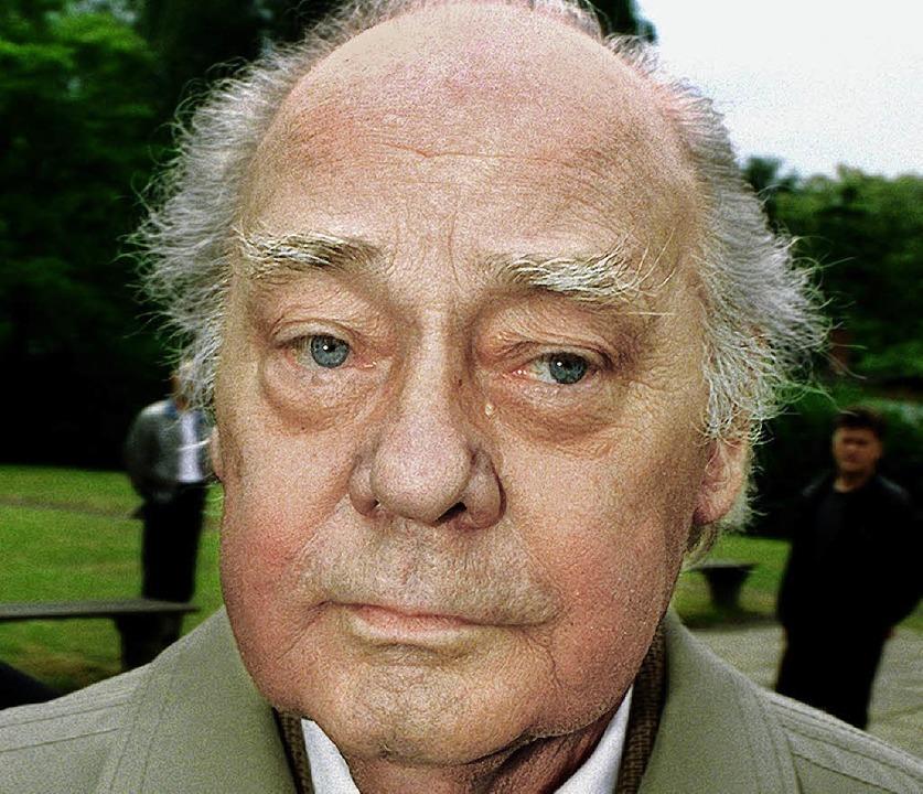 Harry Tisch kurz vor seinem Tod 1995  | Foto: dpa