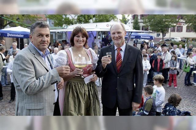 Bürgerfest startet spritzig