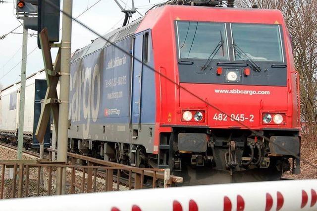 Bewegung bei der Rheintalbahn