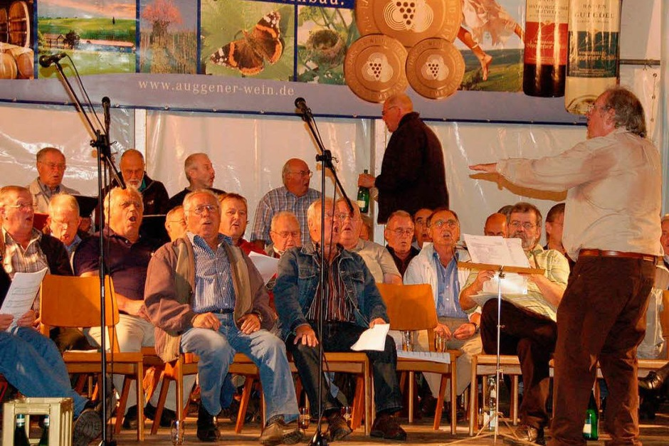 Ein Forum für den Auggener Wein mit buntem Rahmenprogramm bot das 54. Winzerfest in Auggen. <?ZP?> (Foto: sigrid umiger)