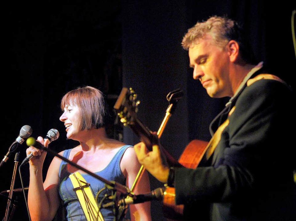 BZ-Redakteur Ralf Burgmaier und seine Frau Katja  | Foto: Thomas Kunz